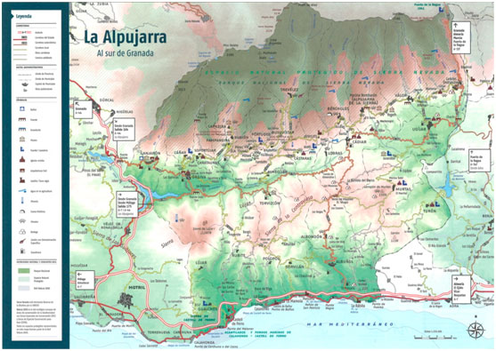 mapa-ADR Alpujarra